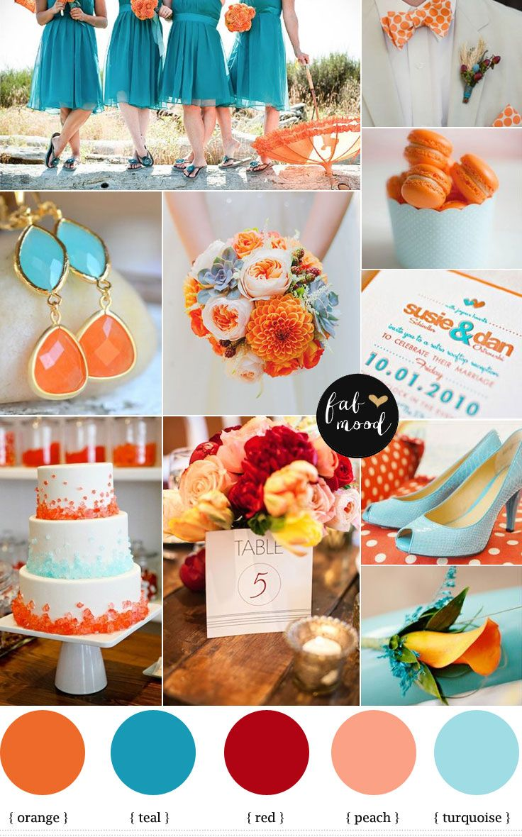 1000+ ideas about Orange Wedding Colors on Pinterest.