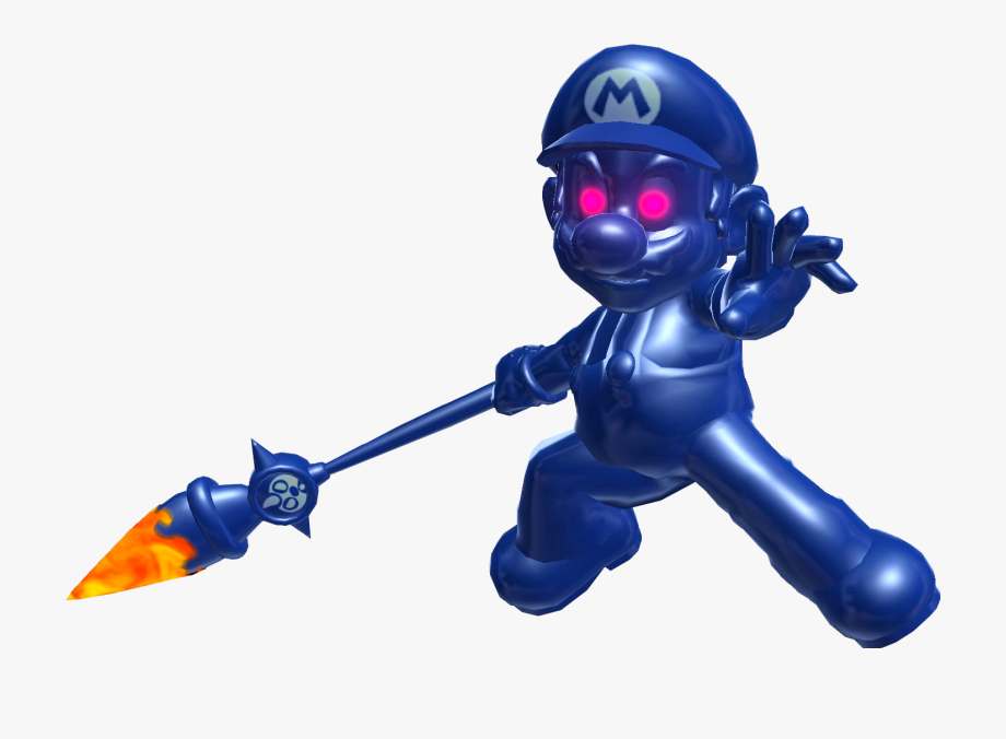 Mario Sunshine Shadow Mario Clipart , Png Download.
