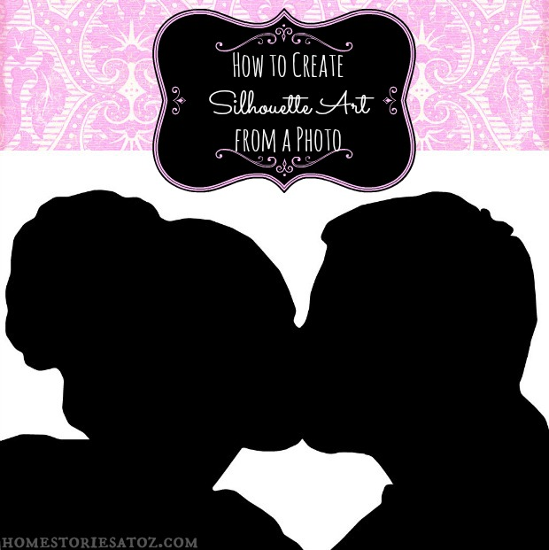 How to Create a Silhouette Image Using FREE Photo Editing.