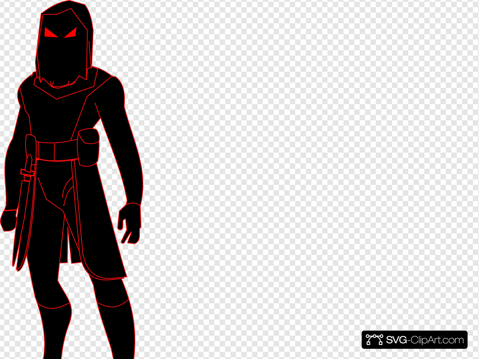 Shadow Man Clip art, Icon and SVG.