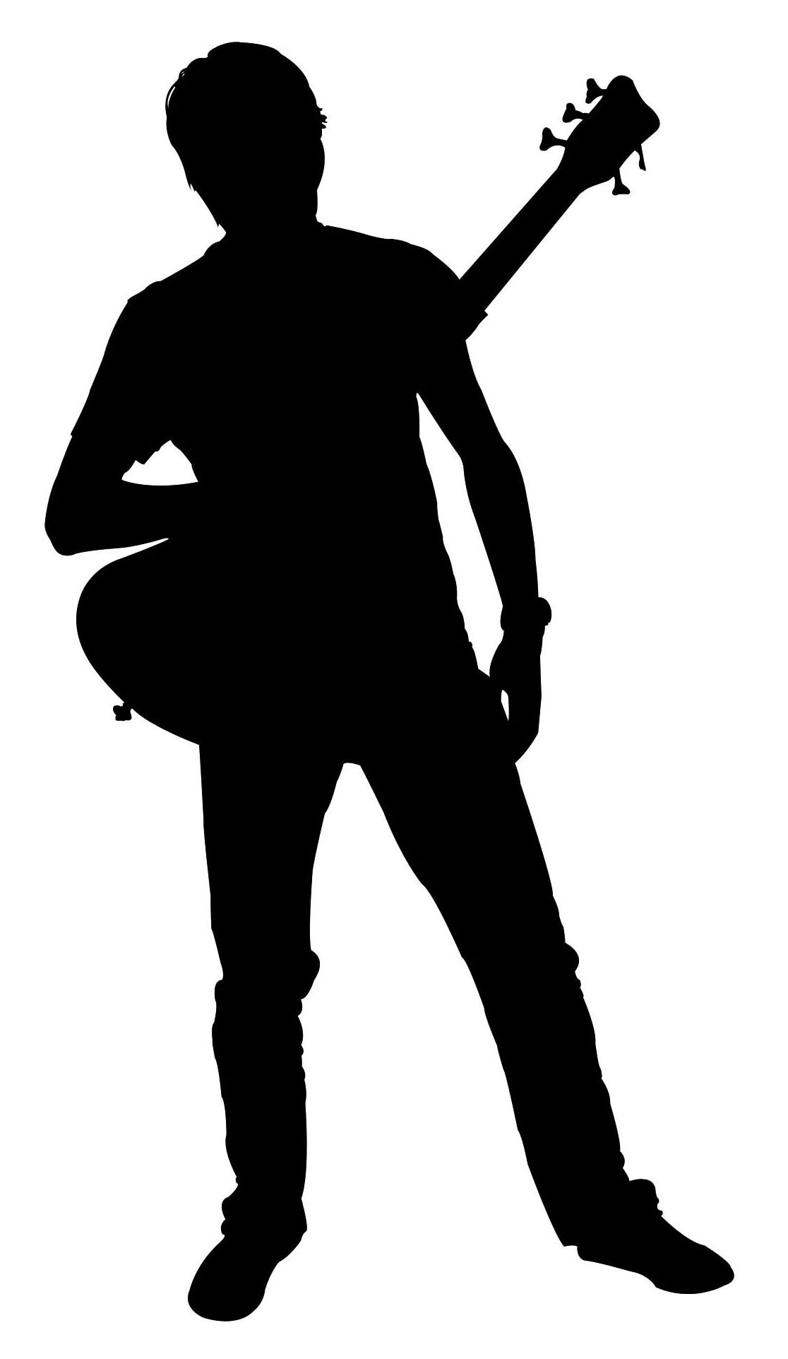 Band Silhouette Clipart.