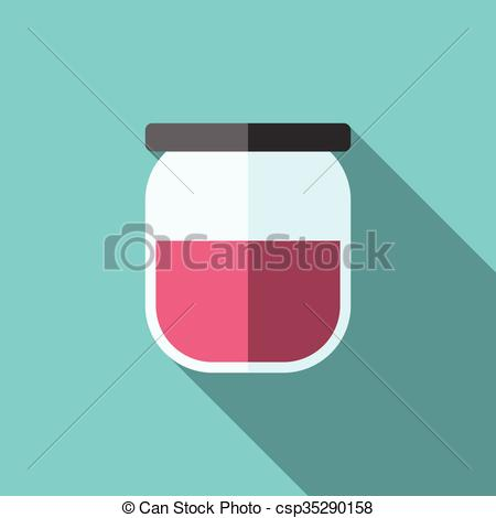 Clipart Vector of Jam.