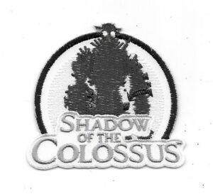 Details about Shadow of the Colossus Video Game Name Logo Embroidered Patch  NEW UNUSED.