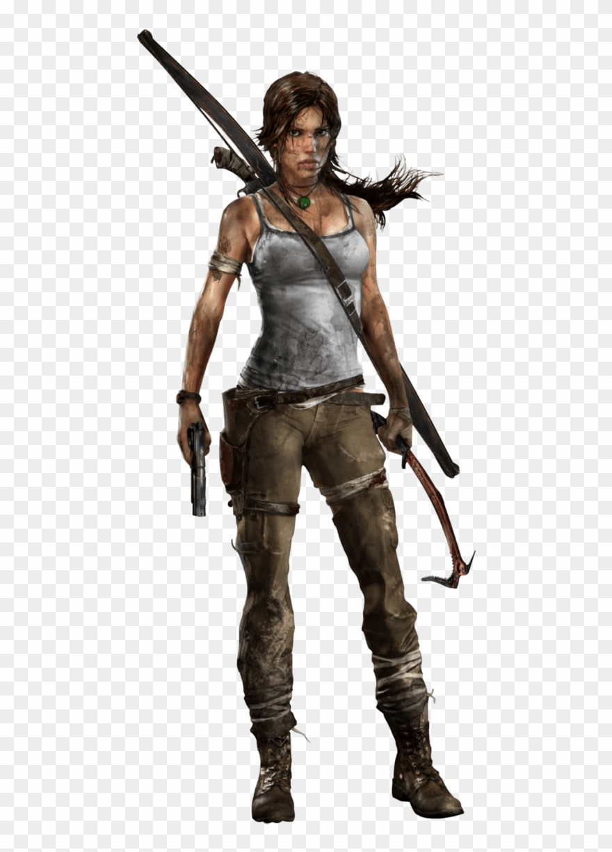 Lara Croft Tomb Raider.