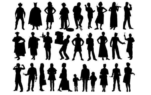 Shadow People Clip Art Download 1,000 clip arts (Page 1.