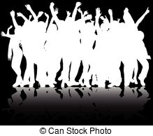 Shadow People Sticks Clipart Images.