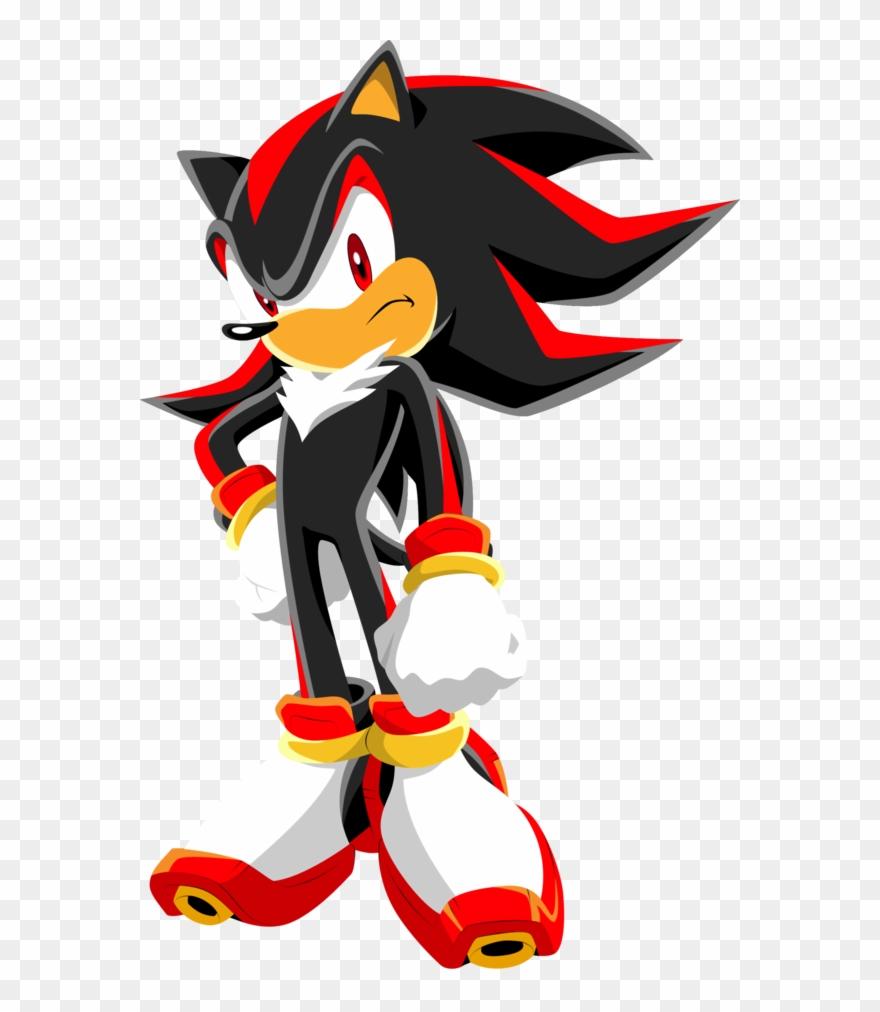 Shadow Hedgehog Clipart.