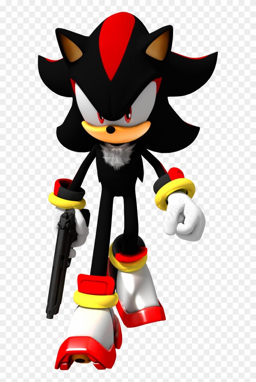 Shadow The Hedgehog Png Pack.
