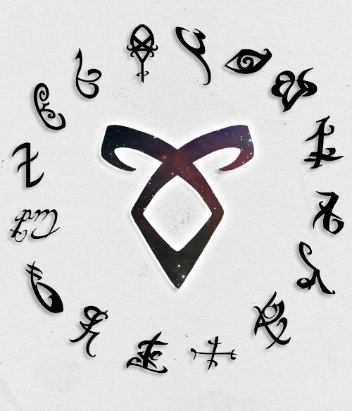 Shadowhunters Logo Clipart.
