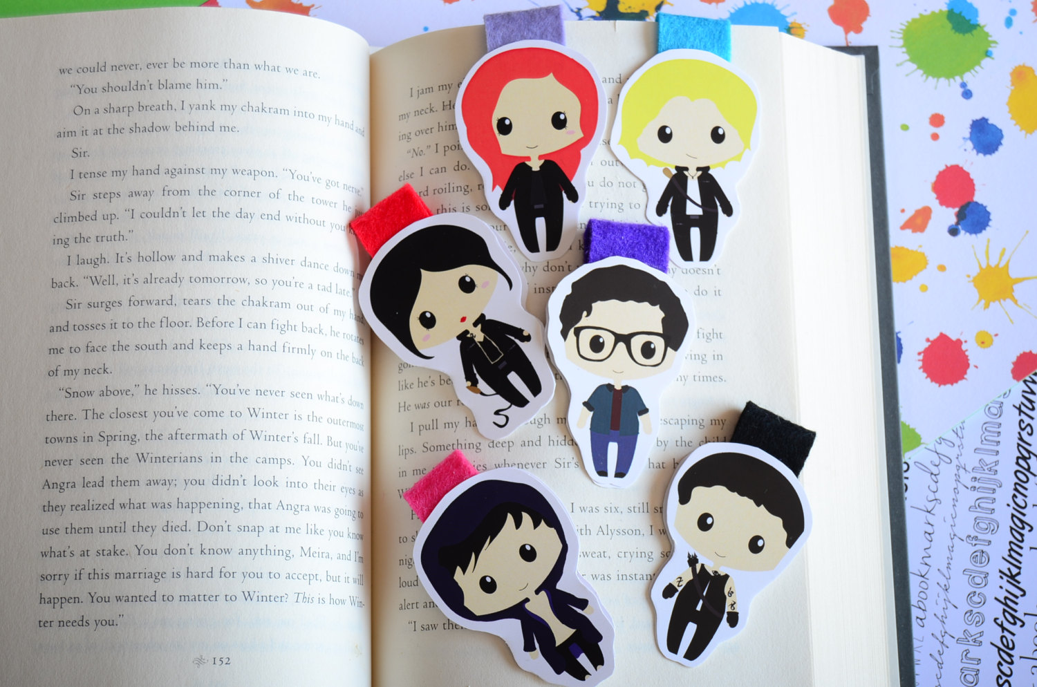 Shadowhunters Magnetic Bookmarks.