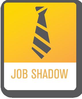 Job shadow clipart.
