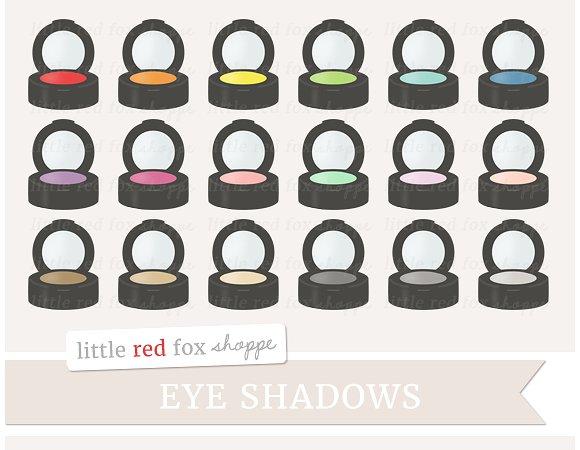 Eye Shadow Clipart ~ Illustrations on Creative Market.