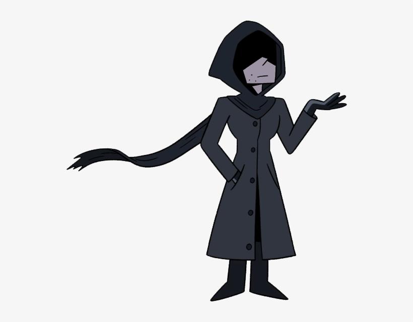 Shadowy Figure.
