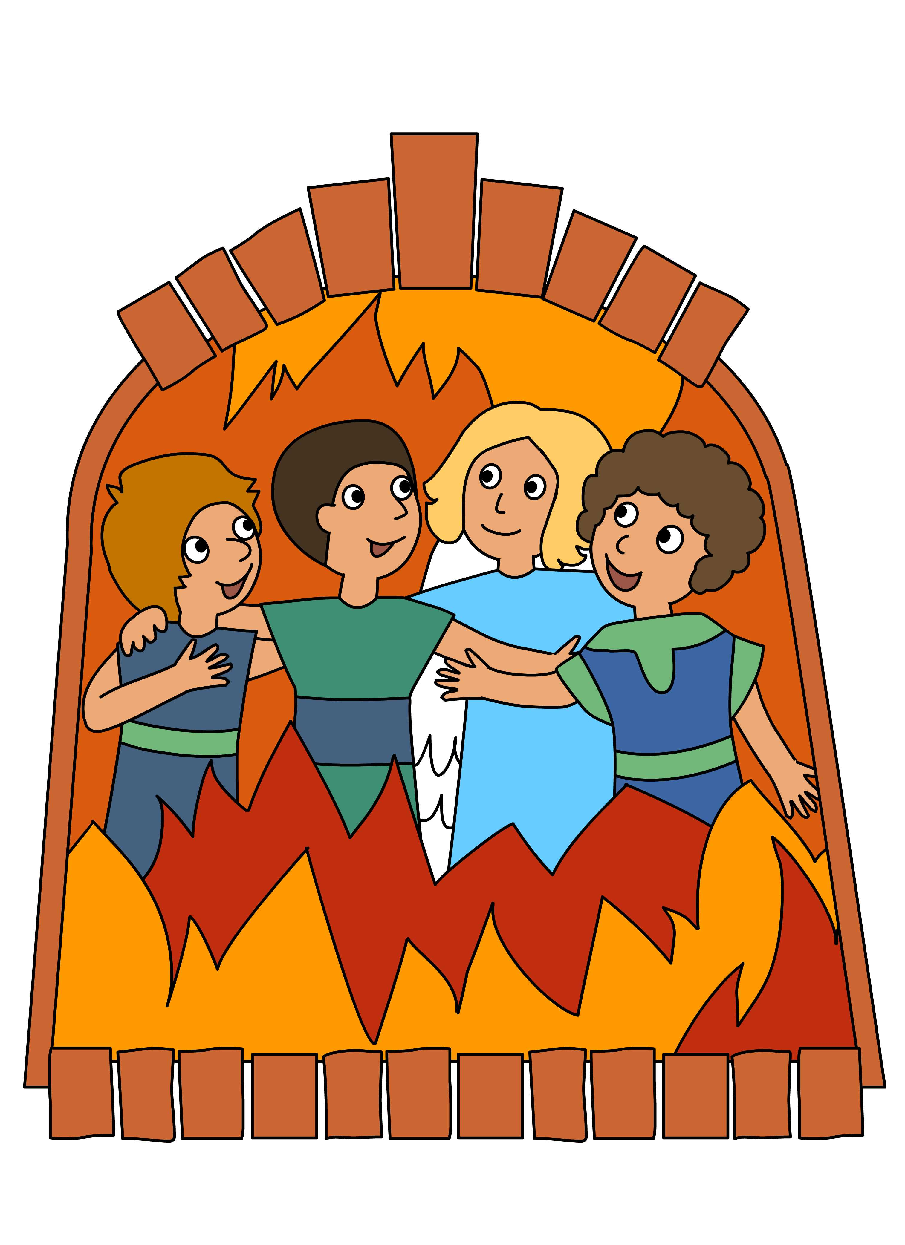 Shadrach Meshach And Abednego Clipart at GetDrawings.com.