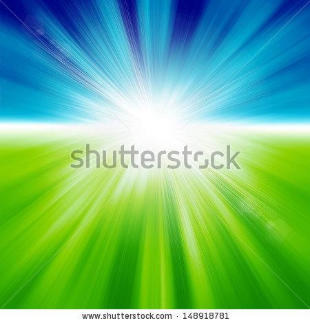 Blue Green Lights Stock Photos, Royalty.