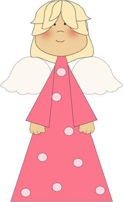 cute angel clipart.
