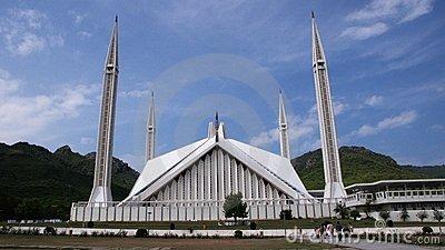 Faisal mosque clipart.