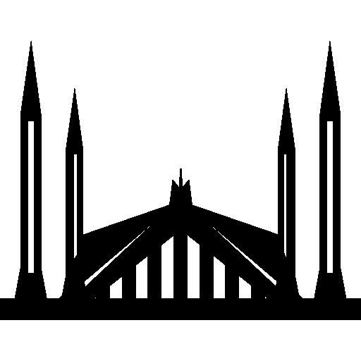 Shah Faisal Mosque.