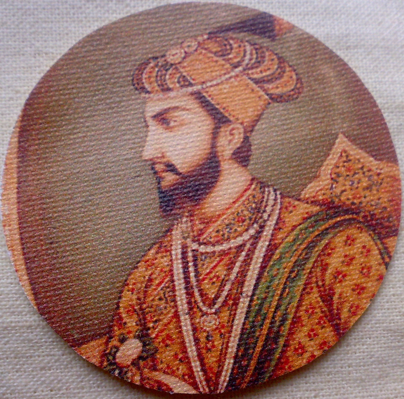 Reserved For Cheryl Mughal Emperor Shah Jahan Large by RaajMa.