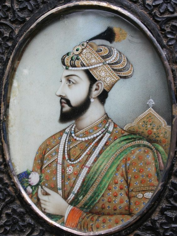 Mughal Emperor Shah Jahan. Considered as one of the greatest.