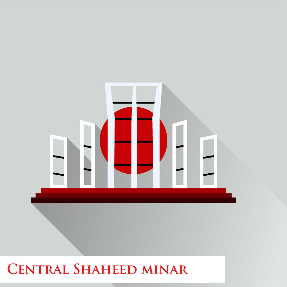 Defining Dhaka with Minimalism on Behance.