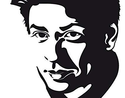 Amazon.com: Wall Decal no.EV79 Shah Rukh Khan.