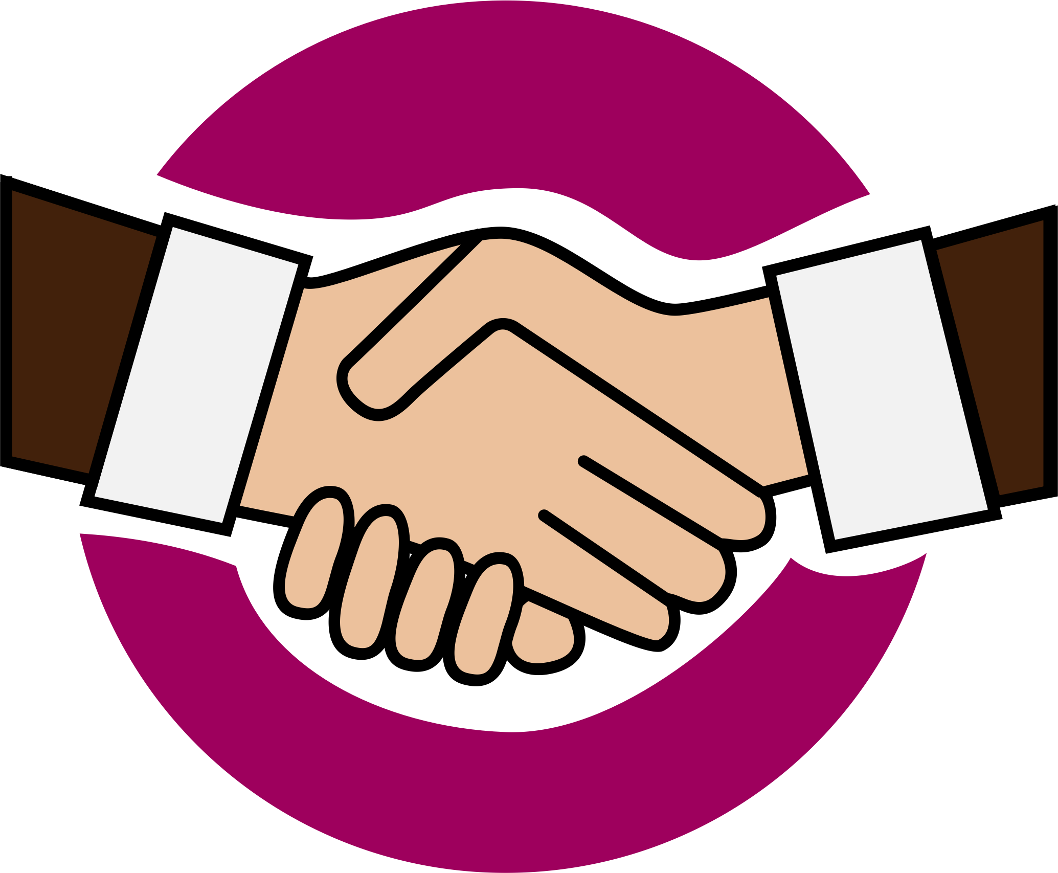 Hand shake clip art clipart images gallery for free download.