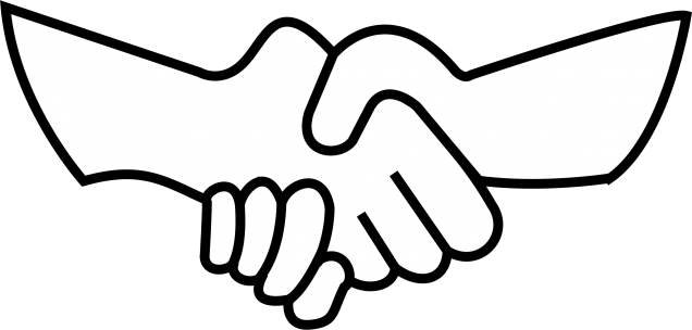 Shaking hands clip art clipart images gallery for free.