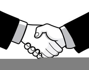 Shake Hand Cliparts.