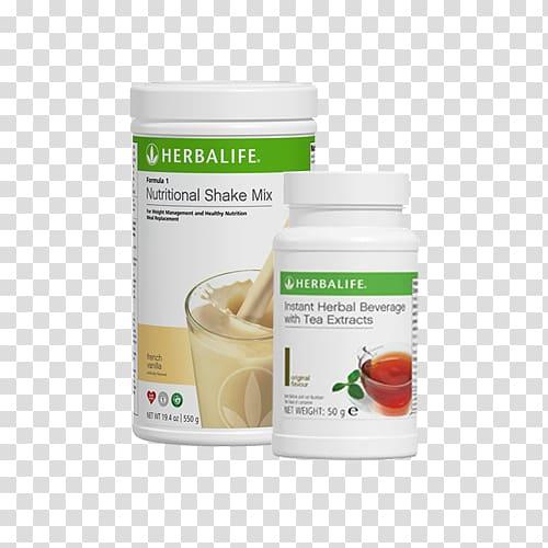 Herbal Center Formula 1 Dietary supplement Milkshake.
