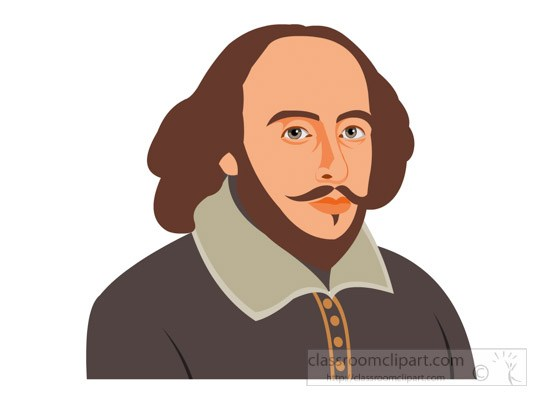 Great writer william shakespeare clipart » Clipart Portal.