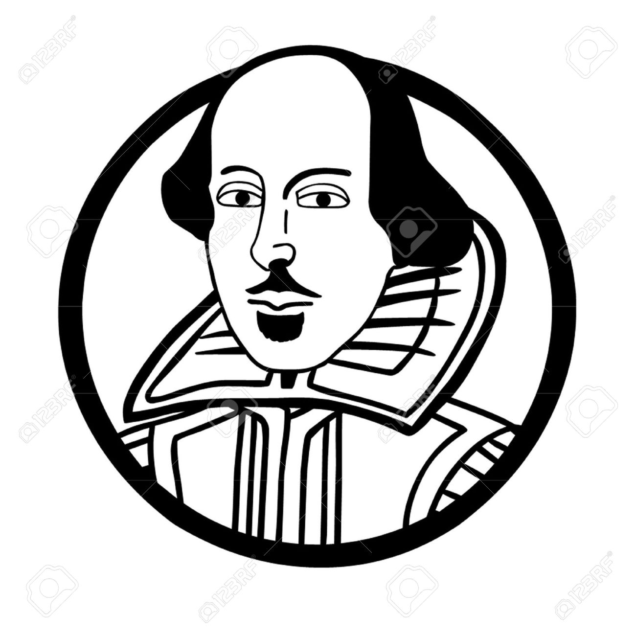 Shakespeare clipart 4 » Clipart Station.