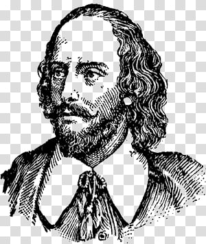 Shakespeare transparent background PNG cliparts free.