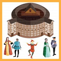 Globe theater clipart.