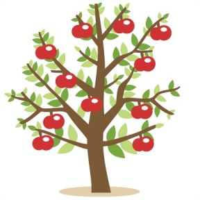 Thin And Thick Tree Clipart.