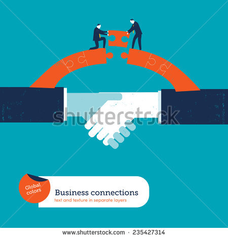 Bridge Business Stock Images, Royalty.
