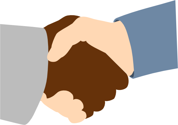 Handshake Clip Art at Clker.com.