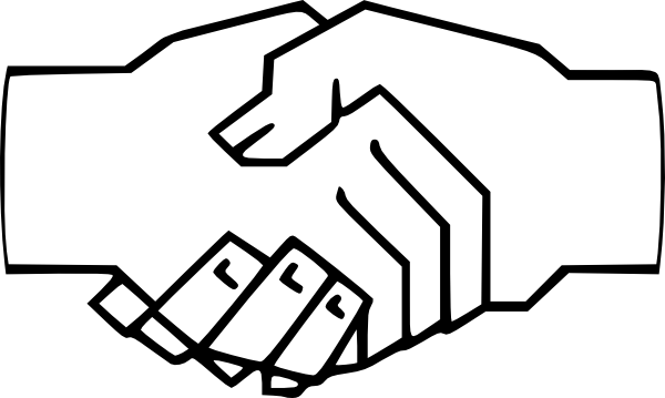 67+ Shaking Hands Clipart.