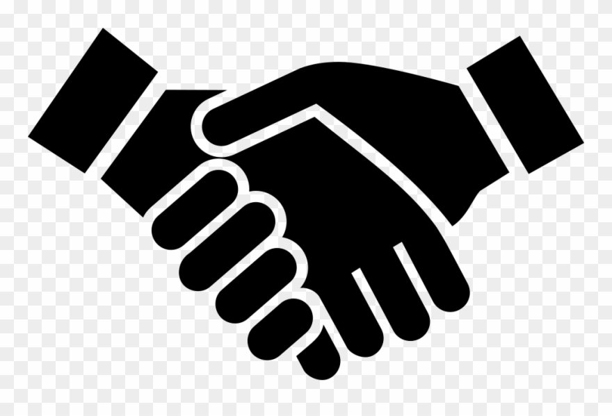 Hand Shake Icon Png.