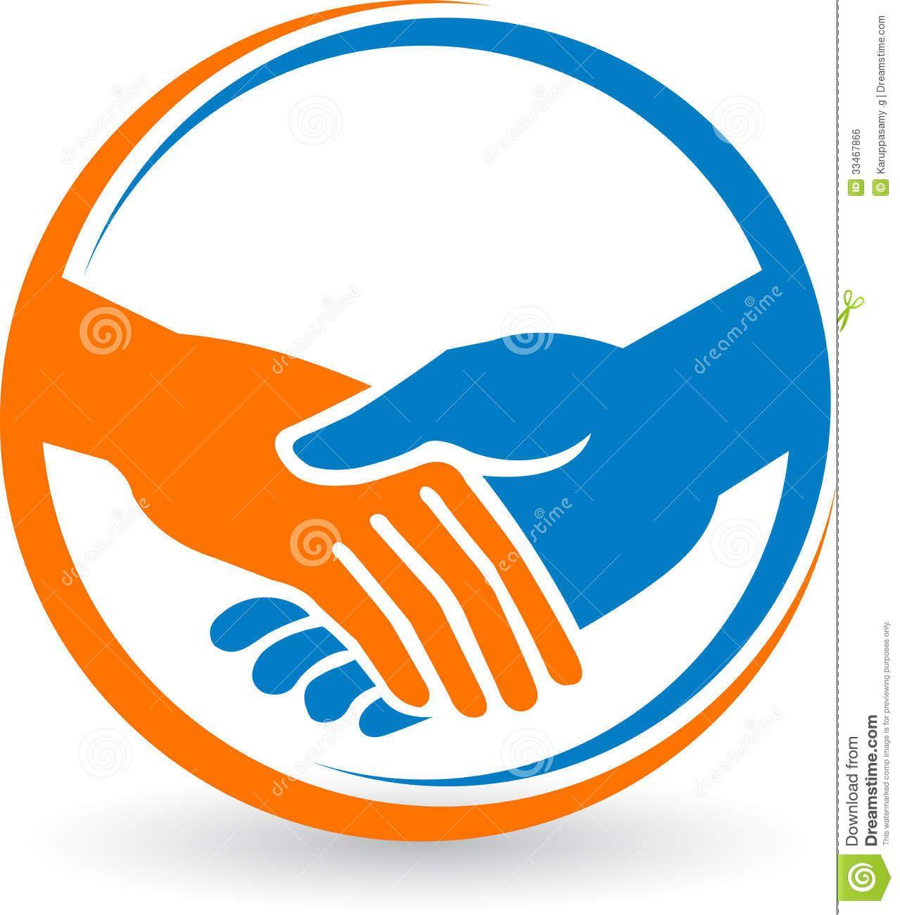 Hand Shake Logo.