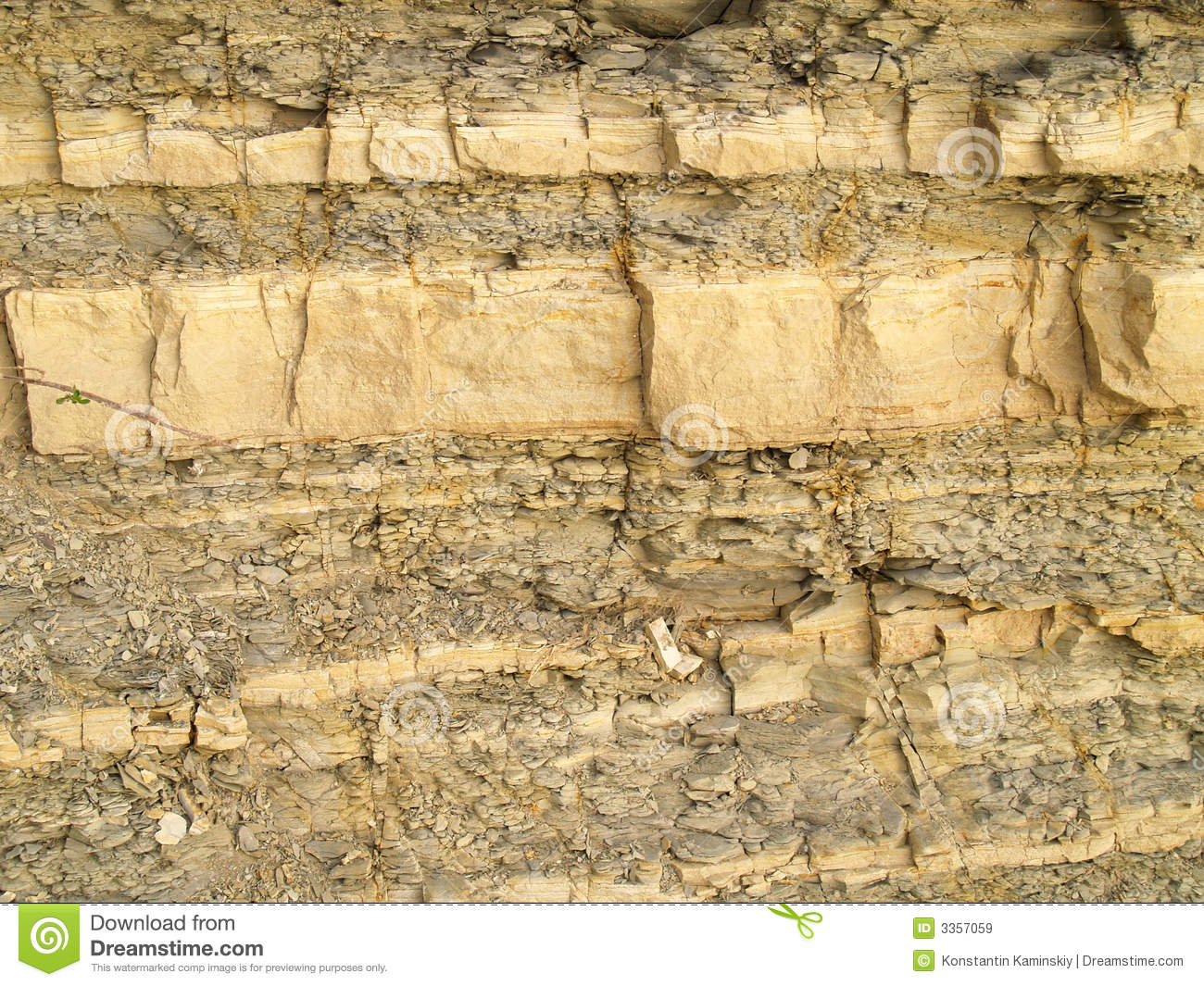Shale Rock Texture Royalty Free Stock Images.
