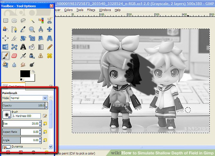 How to Simulate Shallow Depth of Field in Gimp (with Pictures).