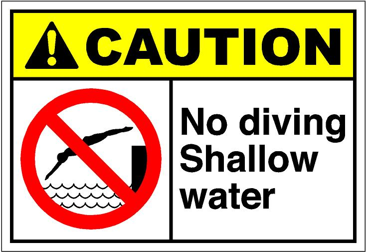 Shallow water clipart.