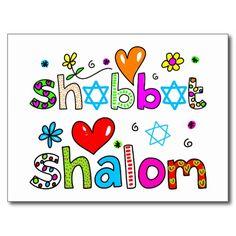 Shabbat Clipart.