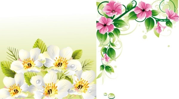 Flower border free vector download (14,622 Free vector) for.