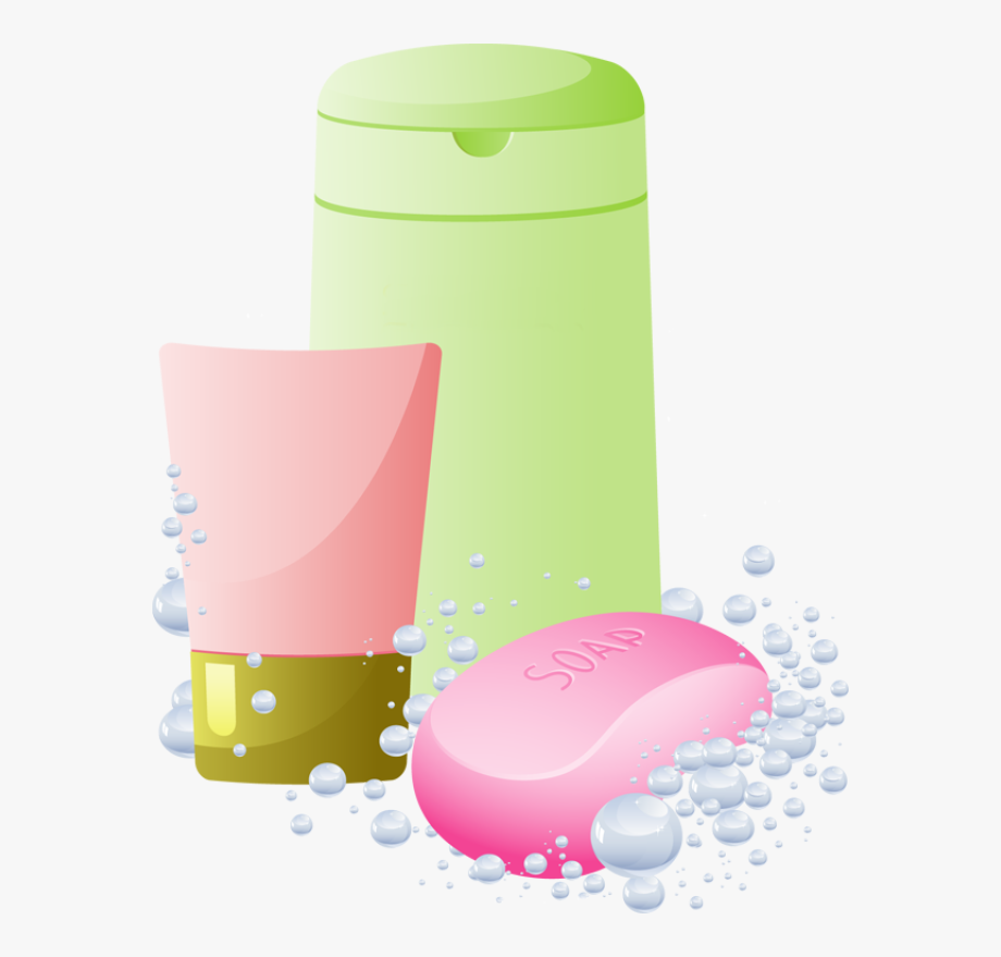 Shampoo And Soap Clipart.