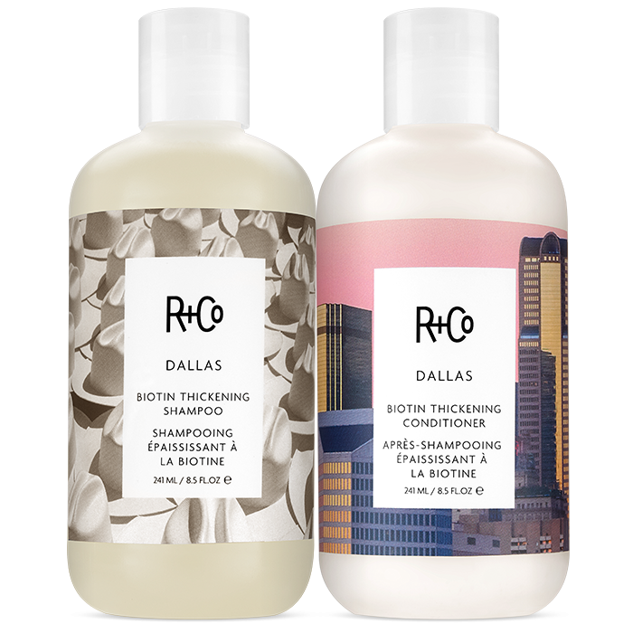 DALLAS Thickening Shampoo + Conditioner Set.
