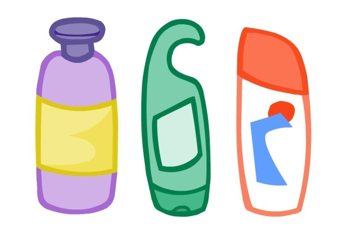 Shampoo Clipart.