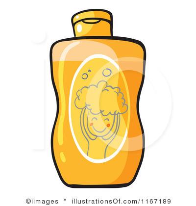 Shampoo Cartoon Clipart.