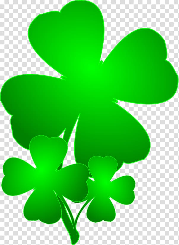 Saint Patrick\\\'s Day Shamrock Four.